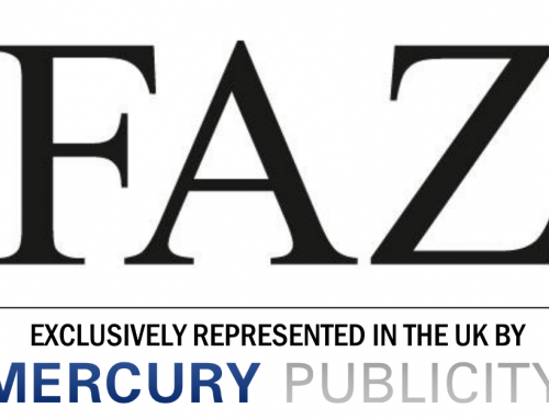 Mercury Publicity now represents FAZ in Germany